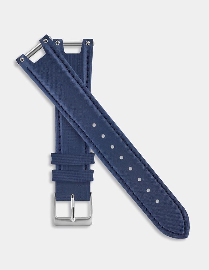 Dark blue leather strap