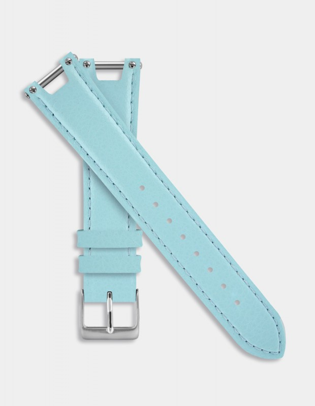 Turquoise leather strap