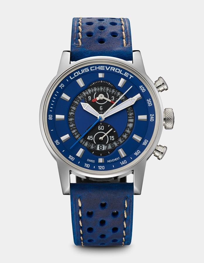 Frontenac Chronographe Bleue