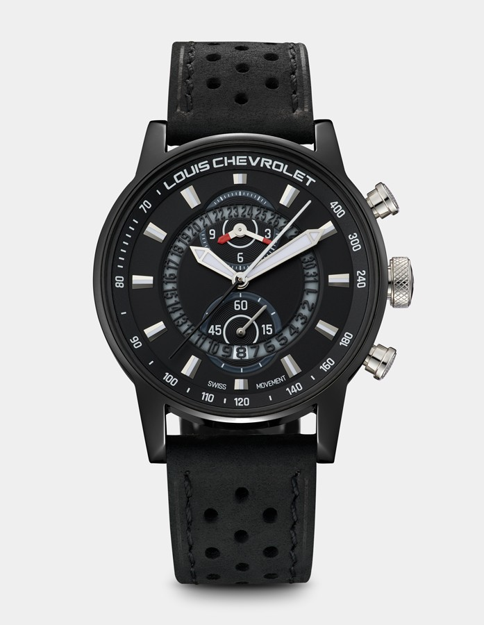 Frontenac Chronograph Black