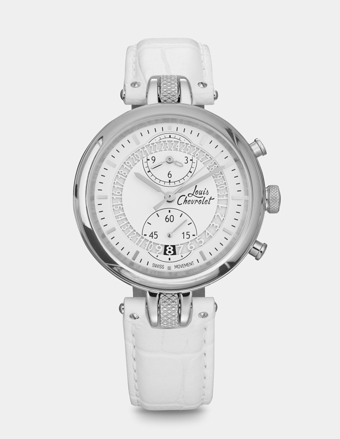Number 8 Chronograph White