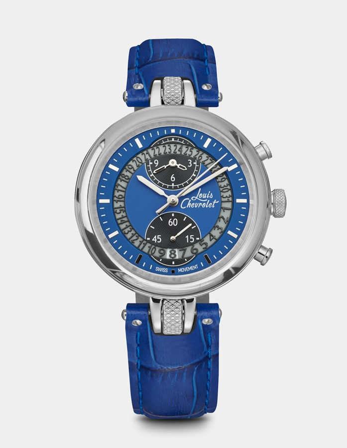 Number 8 Chronograph Blue