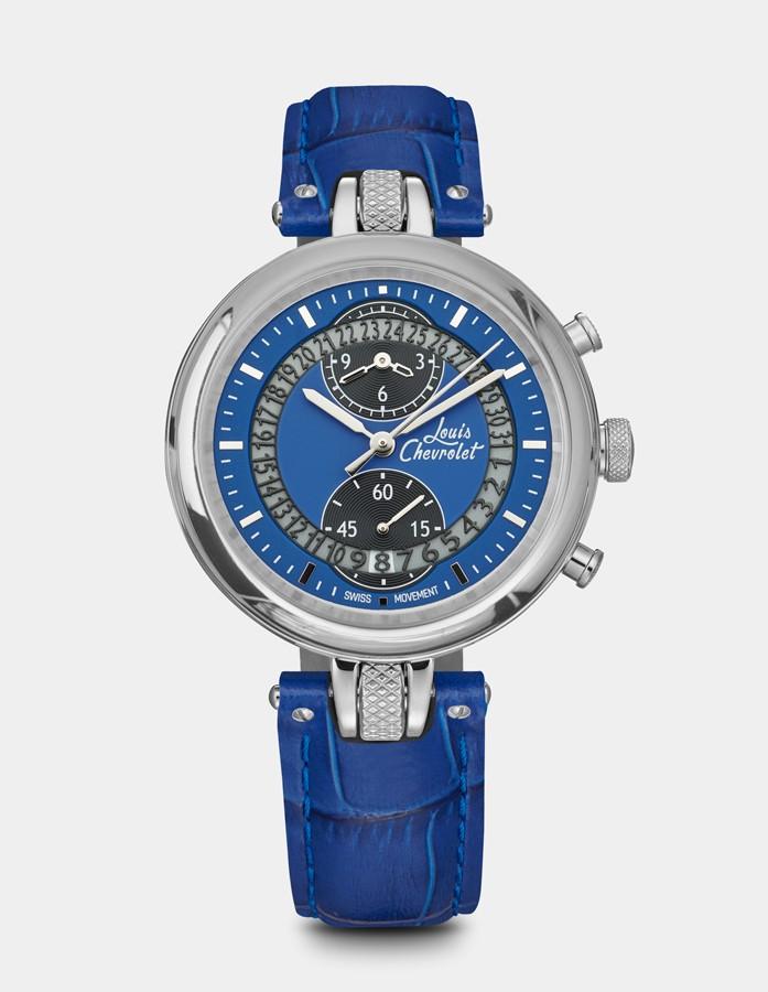 Number 8 Chronographe Bleue