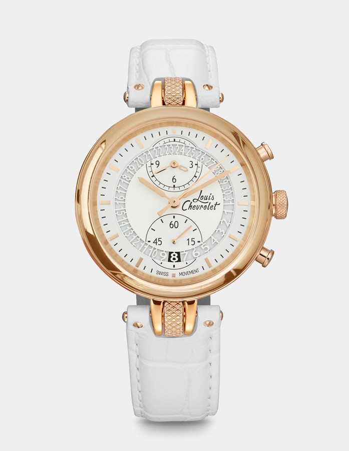 Number 8 Chronographe Or Rose