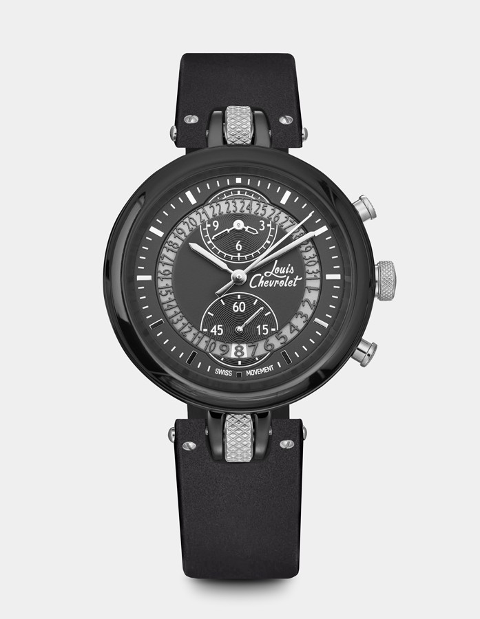 Number 8 Chronograph Black...