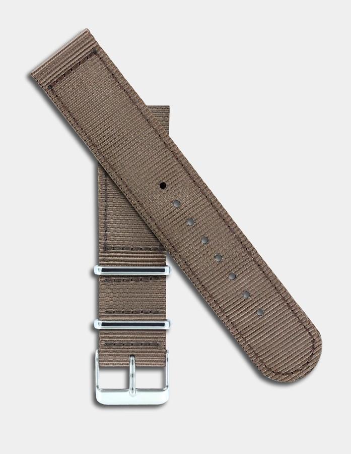 Brown nylon strap