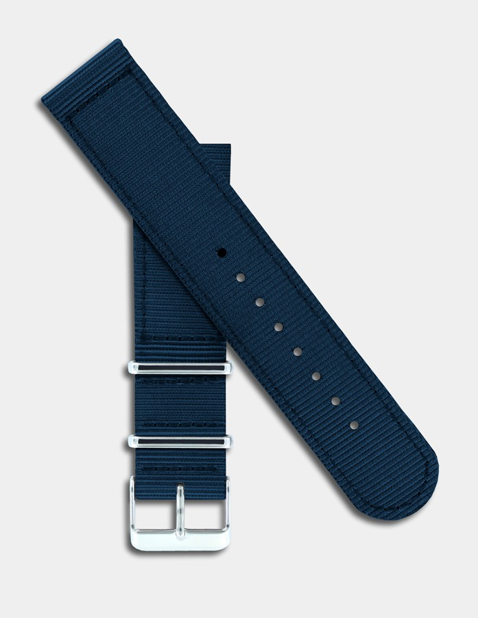 Bracelet nylon bleu