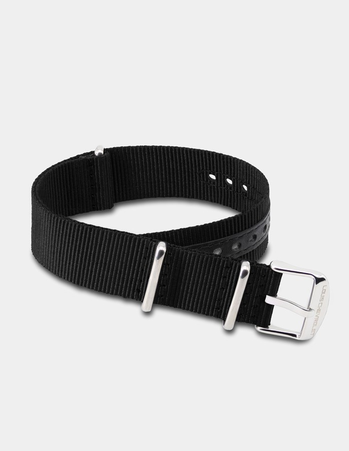 Bracelet nylon noir