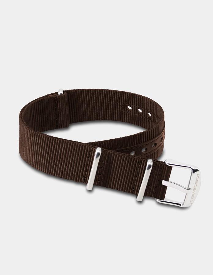 Bracelet nylon brun
