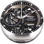 The movement of the chrono-tour is a valjoux 7750