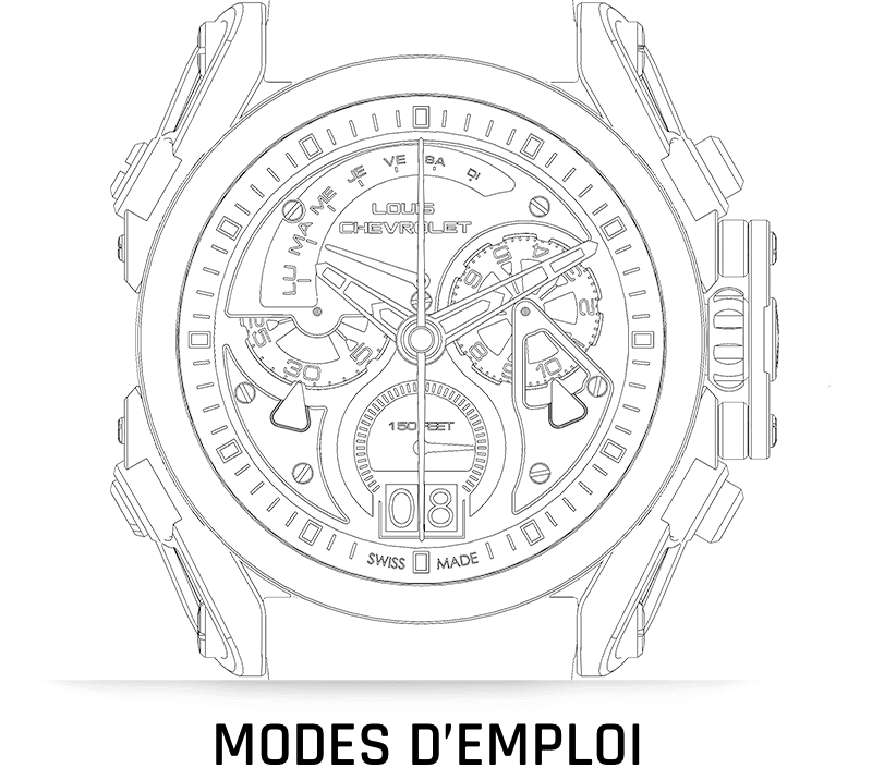 mode emploi tutorial use swiss watches