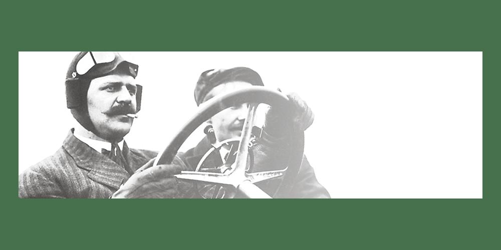 Louis Chevrolet driving